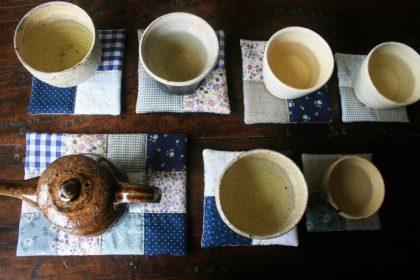 お茶の器のお座布団